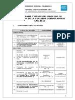 1. BASES - PRACTICAS PROFESIONALES N° 001-2019