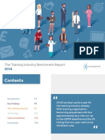 Training Industry Benchmark Report 2018