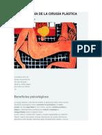 Cirugia Estetica Psicologia