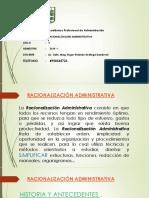 Tema 1 Racinaliza. Adm