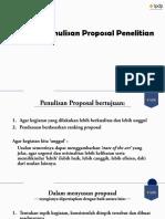 2 Sistematika Penulisan Proposal RISPRO 2019 Tin