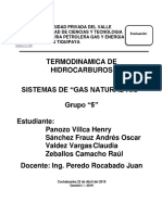Termodinamica de Hidro