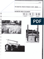 OKA Concrete Box Culvert