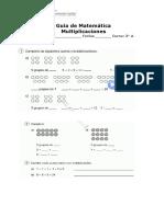 Guia de Multiplicaciones