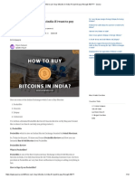 Where Can I Buy Bitcoins in India if I Want to Pay Through NEFT_ - Quora