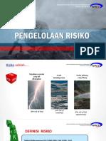 1. Pengelolaan Risiko