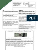 Evaluacion Diagnostica 5to Basicos