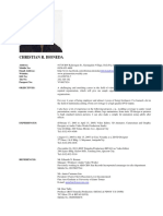 christian dioneda resume updated 2015