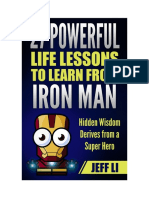 27 Life Lessons to Learn From Iron Man by Jeff Li