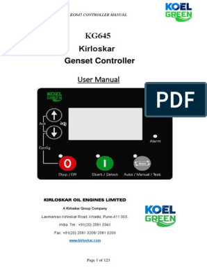 Kirloskar KG645 - User manual for genset controller.pdf ... on how does a microwave work diagram, automotive generator diagram, generator connection diagram, generator rotor diagram, generator radiator diagram, electric generator diagram, generator exciter diagram, generator building diagram, generator relay diagram, generator schematic diagram, generator solenoid diagram, home generator diagram, generator fuel system diagram, generator plug diagram, generator wiring connectors, generator hook up diagram, dc armature winding diagram, rv trailer wire diagram, generator oil diagram, circuit diagram,