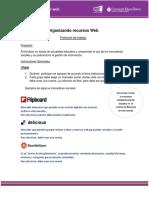 Protocolo Organizando Recursos Web Formativa