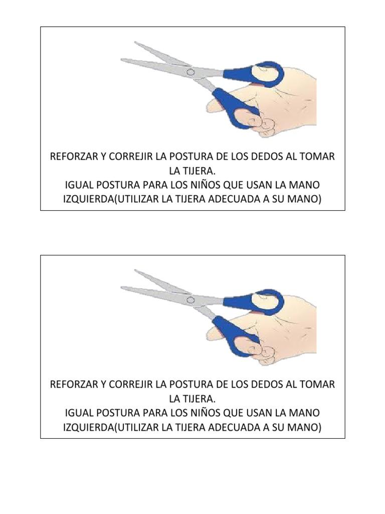 postura tijera