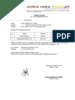 Surat Tugas MRN