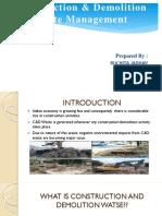 c&d Waste Management _by Ruchita
