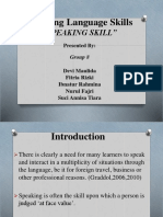 ECD (Speaking Skill)-1