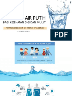 Manfaat Air Putih