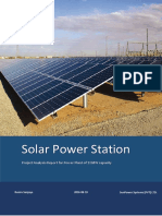 10mw solar powerplant