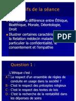 ETHIQUE MEDICALE 2