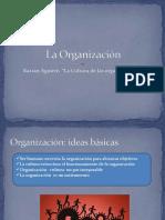 Baztan Aguirre- La Cultura de Las Organizaciones- Cap 1- La Organización