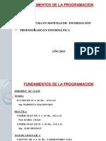 Fundamento de la programación