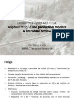 ARR 334 Fatigue Models