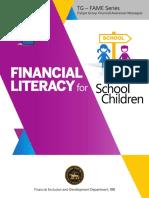 Financial Literacy for School Children1