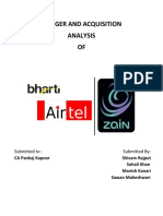 Bharti - Zain Deal