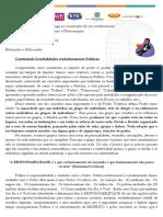 1.º Ano - Texto Para Afb III Unidade 2018