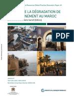 Le Coût de La Dégradation de l'Environnement Au Maroc Janv-2017