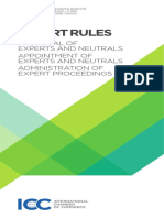 2015 ICC Expert Rules ENGLISH