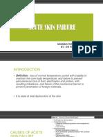 Acute Skin Failure