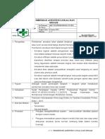 036. Pemberian Anestesi Lokal Dan Sedasi