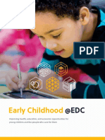 Why Focus on Early Childhood