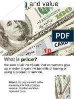 8 Pricing and Value
