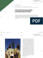 01 Philosophizing photography/photographing philosophy