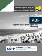 PQ WBA Inspeksi Besar Bendungan Situ Lembang