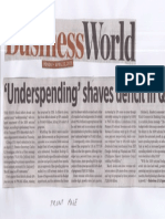 Business World, Apr. 22, 2019, Underspending shaves deficit in Q1.pdf