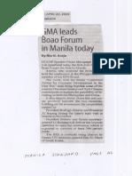 Manila Standard, Apr. 22, 2019, GMA leads Boao Forum in Manila today.pdf