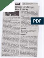 Manila Standard, Apr. 22, 2019, The political landscape after 13 May.pdf