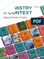 Chemistry in Context Applying Chemistry to Society