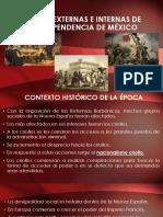 Causas Externas e Internas de La Independencia de México