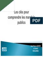 Les Cles Pour Comprendre Les Marches Publics Seuils 2018