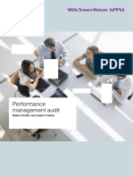 Willistowerswatson Performance Management Audit
