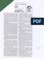 Philippine Star, Apr. 22, 2019, Recidivist lawmakers defeated by budget veto.pdf