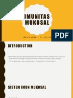 imunitas mukosal