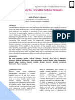 Review paper of Big Data Analytics in mobile cellular networks.pdf