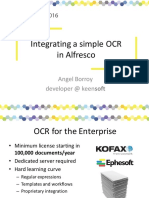 OCR in Alfresco