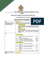 1. Works -Small(ISIE) IFB -Tender Notice