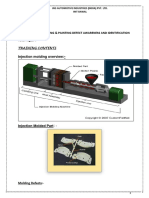 TRAINING CONTENT- (  MOULDING & PAINTING DEFECT AWARENESS AND IDENTIFICATION  ).docx