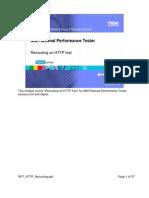 RPT HTTP Recording